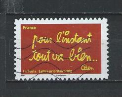 -Frankrijk  Gestempeld (Autoadhésifs) Zelfklevende   NR°  614  Cote   0.60    Euro - France