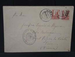 ESPAGNE - Lettre Censurée - Guerre Nationaliste - Détaillons Collection - Lot N° 5486 - Nationalists Censor Marks