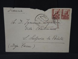 ESPAGNE - Lettre Censurée - Guerre Nationaliste - Détaillons Collection - Lot N° 5491 - Marcas De Censura Nacional