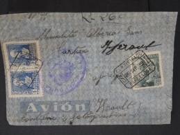 ESPAGNE - Lettre Censurée - Guerre Nationaliste - Détaillons Collection - Lot N° 5497 - Nationalistische Zensur