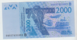 West African States 2000 Francs 2004 Pick 216B UNC - Stati Dell'Africa Occidentale