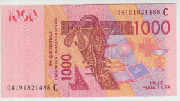 West African States 1000 Francs 2004 Pick 315C UNC - Stati Dell'Africa Occidentale