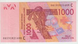 West African States 1000 Francs 2004 Pick 315C UNC - West-Afrikaanse Staten
