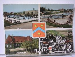 58 - LUZY - MULTIVUES + BLASON - France