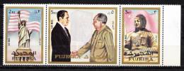 CHINA AND USA,MAO TSE TUNG AND NIXON-FUJEIRA ,MNH - Mao Tse-Tung