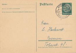 BÜCKAU  KR. GRAFSCHAFT HOYA - 1941  ,  Hindenburg - Germany