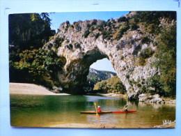 V-08-07-ardeche-le Pont D'arc-gorges De Lardeche--olot De 3 Cartes- - Les Vans