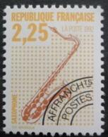 France Préoblitéré N°225 SAXOPHONE Neuf ** - Música