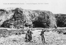 Brétignolles : Plage, Grotte De Pregneau, Dite Four à Gatteau - Bretignolles Sur Mer