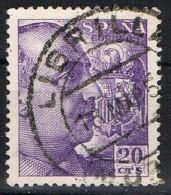 Sello 20 Cts Caudillo, Fechador LIBRILLA (Murcia), Num 1047 º - 1931-Today: 2nd Rep - ... Juan Carlos I