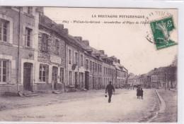 Plélan Le Grand Grande Rue Et Place De L'église - France