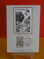 FDC Carte Maxi - Henri Pourrat, Gaspard Des Montagnes - 63 Ambert - 9.5.1987 - 1er Jour, Coté 1,80 € - Cartes-Maximum