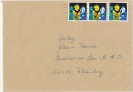 1460FM- BORUSSIA DORTMUND SOCCER CLUB, STAMPS ON COVER, 1996, GERMANY - Storia Postale