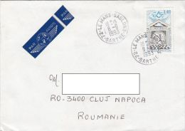 16173- HUMAN RIGHTS, STAMPS ON COVER, 1993, FRANCE - France