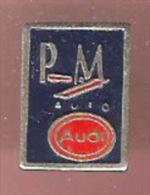 43522-pin's -PM AUTO MERIGNAC.AUDI VOLKSWAGEN , Gironde... - Audi