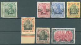 TURKEI -  1905 - MNH/*** LUXE -  Mi 24 25 26 27 30 35 Yv 29 30 31 32 35 40  - Lot 11615