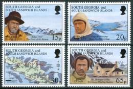 1996 Georgia Del Sud 80°Expédition Sir Ernest Shackleton MNH** B486 - Georgia Del Sud