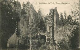 Vic Sous Thil Le Château De Thil  Un Coin Des Ruines - Francia
