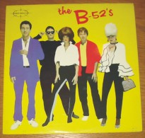 Disque 524 Vinyle 33 T B 52's - Rock