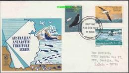 AAT 1973 Mawson 3v FDC Ca 30 Dec 1973 (20663) - FDC