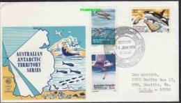 AAT 1974 Maquarie 3v FDC Ca 31 Jan 1974 (20664) - FDC
