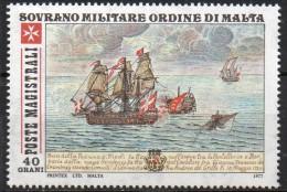 PIA - SMOM - 1977 : Antiche Battaglie Navali Dell´ Ordine - (UN 136-38) - Malta (la Orden De)