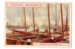 Chromo Cacao Blooker, Amsterdam, Hollande, Ile De Marken, Port - Chromos