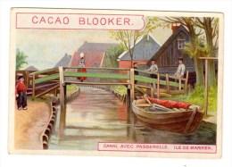 Chromo Cacao Blooker, Amsterdam, Hollande, Ile De Marken, Canal - Chromos