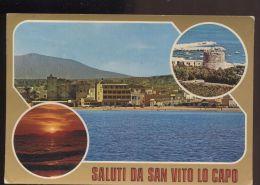 L8348 SALUTI DA SAN VITO LO CAPO - Italia