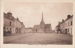 Marçon 72 - Place - Edition Perrin - Autres Communes