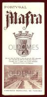 PORTUGAL - MAFRA - COMISSAO MUNICIPAL DE TURISMO - 1951 TOURISM BROCHURE - Tourism Brochures
