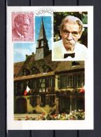 "MONACO 1975 Carte Maximum N° YT 1011 "" ALBERT SCHWEITZER "". Parfait état. CM"