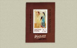 Hungary 1981. Pablo Picasso Sheet MNH (**) Michel: Block 154A / 6.50 EUR - Ungarn