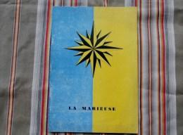 """Programme Theatre De Comedie De STRASBOURG  """" Comedie De L Est """" LA MARIEUSE  Avec Publicites - Programmes"""