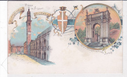 CARD VICENZA  RICORDO DI.........     VEDUTINE      FP-N-2 -0882-23367 - Vicenza