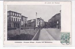 CARD VICENZA PIAZZA XX SETTEMBRE  ANIMATA      FP-V-2 -0882-23368 - Vicenza