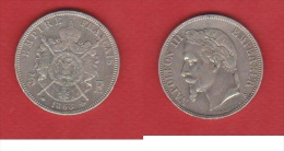 L.PHILIPPE I   ----    5 FRANCS 1868 A  --  ETAT  TTB - J. 5 Francs