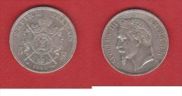 L.PHILIPPE I   ----    5 FRANCS 1868 A  --  ETAT  TTB - France