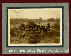 PORTUGAL - LACEIRAS - DESCAMISANDO O MILHO - 1926 REAL PHOTO - Photographs