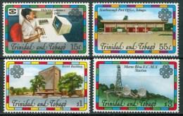 1983 Tinidad & Tobago Telecomunicazioni Telecommuncations Set MNH** B498 - Trindad & Tobago (1962-...)
