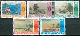1976 Trinidad & Tobago Arte Quadri Paintings Peintures Set MNH** B498 - Trindad & Tobago (1962-...)