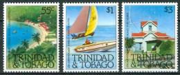 1982 Trinidad & Tobago Turismo Tourism Tourisme Set MNH** B498 - Trindad & Tobago (1962-...)