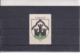 Reklamemarke - Wahlern - Kaffee Hag (306) - Publicidad