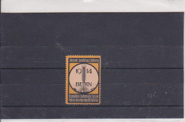 Reklamemarke - Schweiz. Landesausstellung - Bern 1914 (312) - Publicidad