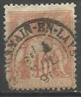 France - Type Sage - N°94 Obl. St GERMAIN-EN-LAYE - 1876-1898 Sage (Type II)