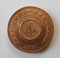 4 Centesimos1870 - REPUBLICA DEL PARAGUAY - Superbe  +++ - - Paraguay
