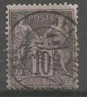 France - Type Sage - N°89 Obl. ALLARMONT VOSGES - 1876-1898 Sage (Type II)
