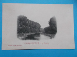 17 : TONNAY-BOUTONNE : LA  BOUTONNE : C.P.A. Carte En Trés Bon état,  (carte Précurseur) - Other Municipalities