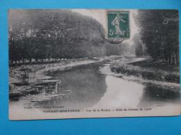 17 : TONNAY-BOUTONNE : VUE Sur LA RIVIERE ALLEE Du CHATEAU De LURET : C.P.A. Carte En Trés Bon état, - Other Municipalities