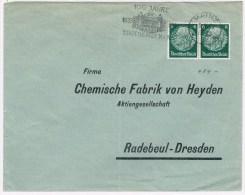 1/2. Chimie. Heyden. TP Perforé = H. Mainz 5.10.33 - Fabriken Und Industrien